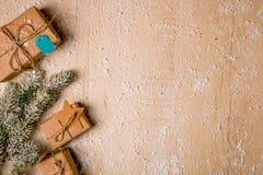 Предпосылка украшения рождества Стоковое Фото