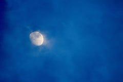 Предпосылка луны Стоковое фото RF