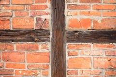 Предпосылка лучей и здания кирпичей внешнего Стоковое Изображение RF