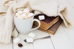 Предпосылка уютной зимы домашняя стоковое фото rf