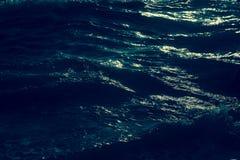 Предпосылка фотографии волны моря внешняя | сильный океан движения Стоковое Изображение RF