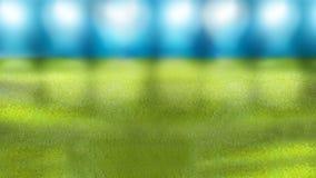 Предпосылка футбола футбола стадиона пустая Стоковая Фотография