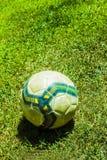 Предпосылка футбола футбола Стоковое Изображение RF