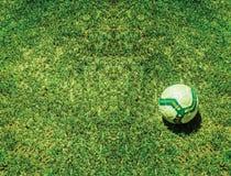 Предпосылка футбола футбола Стоковые Фотографии RF