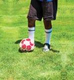 Предпосылка футбола футбола Стоковые Изображения
