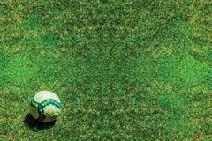 Предпосылка футбола футбола Стоковые Изображения RF