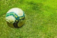 Предпосылка футбола футбола Стоковая Фотография