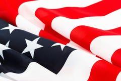 Предпосылка флага США, День независимости, четвертом -го символ в июле Стоковое Изображение