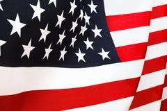 Предпосылка флага США, День независимости, четвертом -го символ в июле Стоковое фото RF