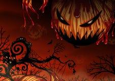 Предпосылка хеллоуина вручную рисуя Стоковая Фотография