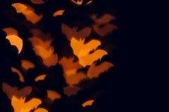 Предпосылка хеллоуина праздничная запачканная Стоковое фото RF