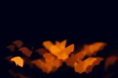 Предпосылка хеллоуина праздничная запачканная Стоковое Фото