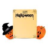 Предпосылка хеллоуина Стоковые Фото