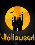 Предпосылка хеллоуина Стоковое Изображение
