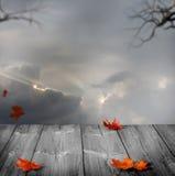 Предпосылка хеллоуина Стоковое фото RF