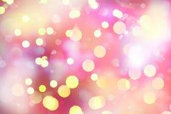 предпосылка цветастая Абстрактные яркие света Стоковое Изображение