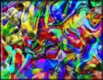 предпосылка цветастая Стоковая Фотография RF