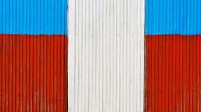 Цветасто гофрируйте стену стоковое изображение