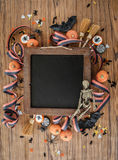 предпосылка цветастый halloween Стоковое фото RF
