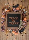 предпосылка цветастый halloween Стоковое Изображение