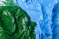 Предпосылка цвета красок масла художников Стоковое Изображение