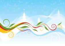 Предпосылка цвета рождества Стоковое фото RF