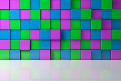 предпосылка цвета 3d Стоковые Фотографии RF