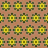 предпосылка цветет желтый цвет Стоковые Фото