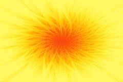 Предпосылка цветка абстрактная в желтом цвете стоковые фотографии rf