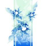 Предпосылка цветка вектора Eps10 Стоковые Фото