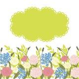 Предпосылка цветка Стоковые Изображения