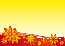 Предпосылка цветка Стоковое Изображение RF