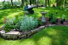 Предпосылка цветка Garden Стоковые Фото