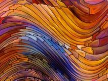 Предпосылка цветного стекла Стоковое Фото
