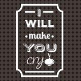Предпосылка цитаты типографская Стоковое Изображение RF