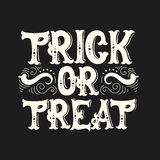 Предпосылка цитаты хеллоуина вектора типографская Стоковая Фотография RF