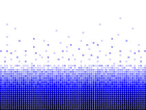 Предпосылка цифров голубая квадратная Стоковые Изображения