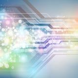 Предпосылка цифров технологии абстрактная иллюстрация вектора