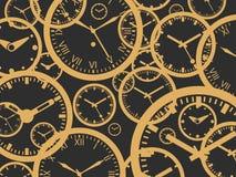 Предпосылка часов - изолированная иллюстрация вектора бесплатная иллюстрация