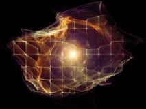Предпосылка частицы разума Стоковые Фото