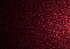 Предпосылка частиц полигона Брайна абстрактная Стоковое фото RF