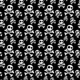 Предпосылка черепов безшовная Стоковая Фотография RF