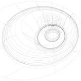 Предпосылка черно-белой решетки цифров стильная, абстрактная сеть Стоковое Изображение