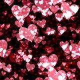 предпосылка чешет обои Валентайн костюмов сердец безшовные наилучшим образом Стоковая Фотография
