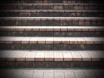 Предпосылка шага лестницы Стоковые Фотографии RF