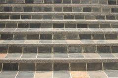 Предпосылка шагов лестниц гранита Стоковая Фотография RF