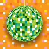 Предпосылка шарика диско Стоковое Фото