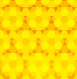 Предпосылка шестиугольника Стоковые Изображения