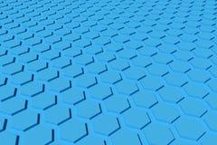 Предпосылка шестиугольника Стоковая Фотография