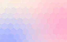 Предпосылка шестиугольников абстрактная красочная Иллюстрация штока